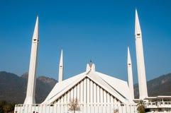 Grande Faisal Mosque a Islamabad fotografie stock libere da diritti