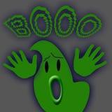 Grande fantasma verde royalty illustrazione gratis