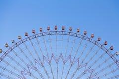 Grande Ferris Wheel su chiaro cielo blu Fotografia Stock Libera da Diritti