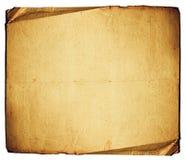 Grande feuille de papier Photographie stock libre de droits