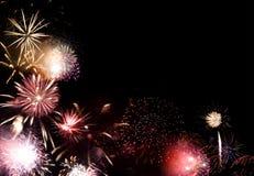 Grande finale dei fuochi d'artificio Fotografia Stock Libera da Diritti