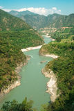 Grande fiume Fotografia Stock