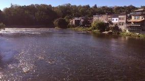 Grande fiume di Parigi sul Canada archivi video