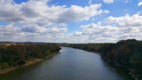 Grande fiume a Nashville Fotografia Stock