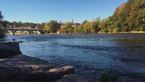 Grande fiume Parigi Canada archivi video