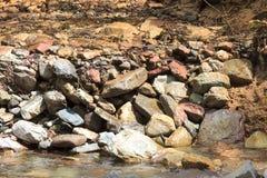 Grande fluxo do rio imagem de stock