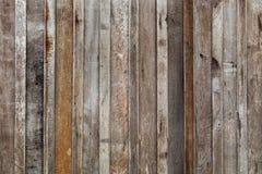 Grande fondo di legno della parete della plancia di Brown fotografia stock