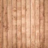 Grande fondo di legno di struttura della parete della plancia di Brown Fotografia Stock Libera da Diritti