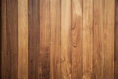 Grande fondo di legno di struttura della parete della plancia di Brown Immagini Stock