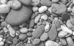 Grande fondo variopinto delle pietre Fotografie Stock