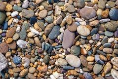 Grande fondo variopinto delle pietre Fotografia Stock