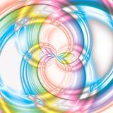 Grande fondo variopinto di spirale della lecca-lecca Fotografia Stock