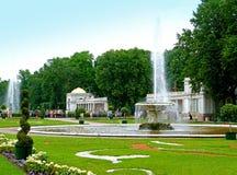 Grande fontana Fotografia Stock