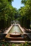 Grande fontana Fotografia Stock Libera da Diritti