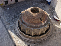 Grande fontana di Onofrio Immagini Stock