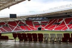 Grande Forest Stadium em Debrecen imagens de stock royalty free