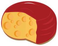 Grande formaggio Immagini Stock
