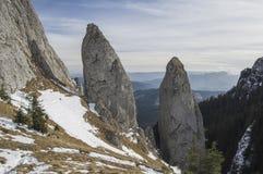 Grande formazione rocciosa Fotografie Stock
