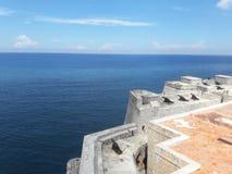 Grande fortaleza do habana na península do Iucatão México fotografia de stock royalty free