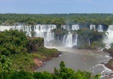 Grande Foz de Iguaçu Maravilha natural do mundo imagens de stock royalty free
