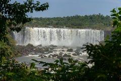 Grande Foz de Iguaçu Maravilha natural do mundo fotografia de stock royalty free