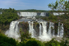 Grande Foz de Iguaçu Maravilha natural do mundo fotos de stock royalty free