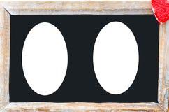 Grande frame de madeira Fotos de Stock