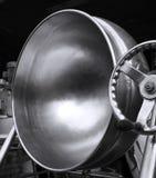 Grande frigideira chinesa industrial fotografia de stock royalty free