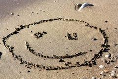 Grande fronte sorridente Fotografie Stock