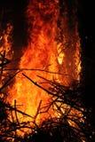 Grande fuoco Immagini Stock Libere da Diritti