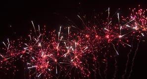 Grande fuoco d'artificio Fotografia Stock