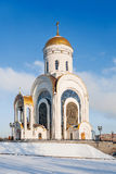 Grande gênero templo do mártir (igreja de St George) Moscovo, Rússia Foto de Stock Royalty Free