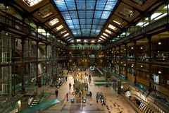 Grande Galerie de l'Évolution in Paris Royalty Free Stock Image