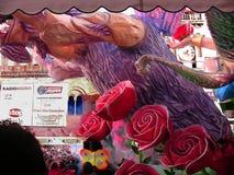 Grande galleggiante del topo - rose e dettaglio del lupo Fotografie Stock Libere da Diritti