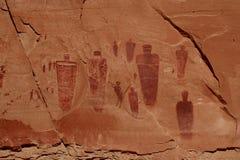 Grande galleria del canyon a ferro di cavallo Fotografie Stock