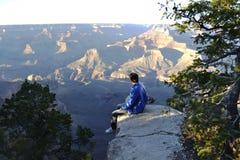 Grande garganta de Colorado Foto de Stock
