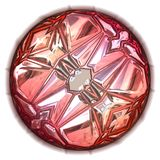 Grande gema cor-de-rosa ilustração do vetor
