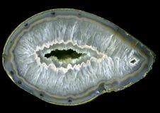 Grande geode dell'agata Immagini Stock Libere da Diritti