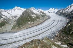 Grande ghiacciaio fotografie stock libere da diritti