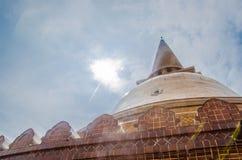 Grande giorno della pagoda Fotografia Stock