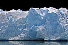Grande glace de glacier Images libres de droits