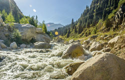 Grande gorge d'Almaty Photo stock