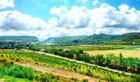 Grande gorge en Crimée Images stock