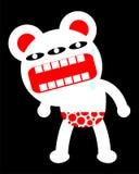 Grande grida fuori l'orso Immagini Stock
