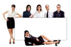 Grande groupo - marchio dell'azienda. disponga il vostro testo qui Fotografia Stock Libera da Diritti