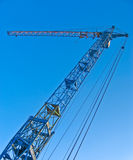 Grande grue de construction. Images libres de droits