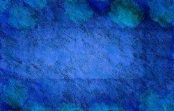 Grande grunge bleue illustration libre de droits