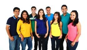 Grande grupo de amigos asiáticos Foto de Stock Royalty Free