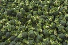 Grande grupo de brócolis verdes frescos Foto de Stock