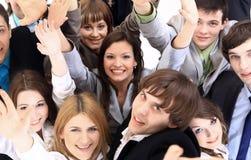 Grande gruppo di gente di affari. Fotografia Stock Libera da Diritti